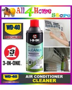 110z 331ml WD-40 3 in 1 Air-Cond Cleaner