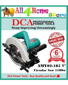 """AMY02-185 DCA Electric Circular Saw 7-1/4"""" HEAVY DUTY for Wood"""