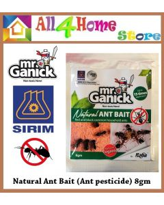 Baba Mr Ganick Natural Ant Bait (Ant pesticide) 8gm/pack 天然蚁诱剂