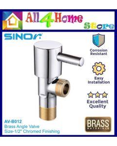 SINOR Brass Angle Valve Faucet Angle Valve  AV-B012