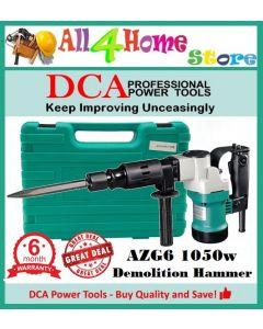 AZG6 DCA 1050W 17mm Hex Percussion Demolition Hammer