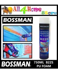 750ML BOSSMAN B22S  PU Foam, General Purpose PU FOAM