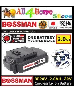 BOSSMAN 20V Cordless Li-lon Battery