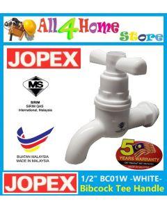 "1/2"" BC01W JOPEX PVC Bibcock Tee Handle"