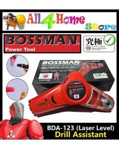 "BDA-123# ""BOSSMAN"" Drill Assistant c/w Laser Level"