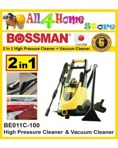 BOSSMAN 2 IN 1 High Pressure Cleaner & Vacuum Cleaner (BE011C-100)