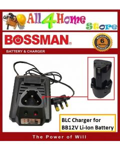 BOSSMAN BLC Charger for BB12V Li-Ion Battery