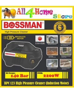 BPC 123 BOSSMAN High Pressure Cleaner (Brushless & Induction Motor) 140Bar 2200W