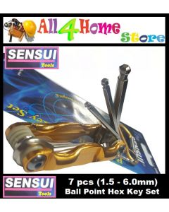 7pcs SENSUI Ball Point Type Hex Key Set