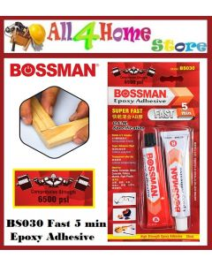 35ml BOSSMAN Epoxy Adhesive Fast - 5 Minute - BS030