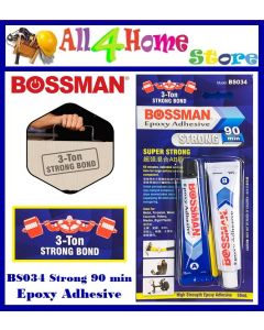 35ml BOSSMAN Epoxy Adhesive Strong - 90 Minute - BS034