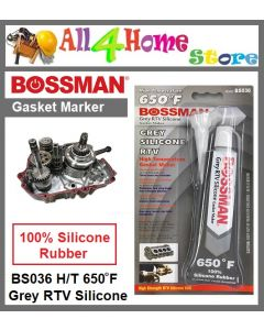 85g BOSSMAN High Temperature GREY RTV Silicone Gasket Marker - BS036