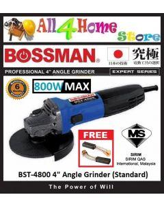 BOSSMAN 4'' Angle Grinder 800W Max Expert Series (BST-4800 / BST4800 / BST 4800)