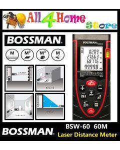 BSW-60 BOSSMAN 60 meter Laser Distance Meter