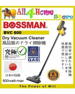 BOSSMAN BVC600 Dry Vacuum Cleaner 600w