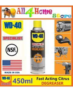 450ml WD-40 Fast Acting Degreaser