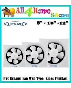 Hipson PVC Exhaust Fan Wall Type H20SW Kipas Ventilasi