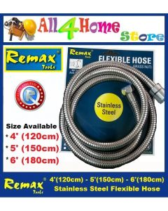 4' - 5' - 6'  REMAX Stainless Steel Flexible Hose