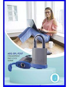 AEGLOC Weatherproof Stainless Steel Fingerprint Padlock AEG-SPL-207