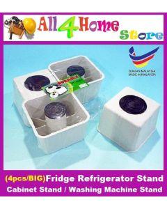 4PCS Fridge Refrigerator Stand/Cabinet Stand/Washing Machine Stand (Big)