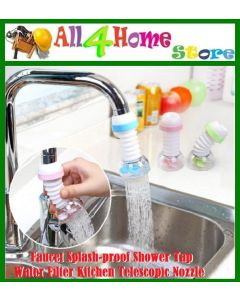 Ready Stock !!! Faucet Splash-proof Shower Tap Water Filter Kitchen Telescopic Nozzle