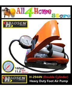 H-2944N (Double Cylinder) HADSEN Heavy Duty Foot Pump