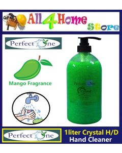 (Mango Fragrance) 1 liter PERFECT ONE Crystal Heavy Duty Hand Cleaner