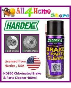 HD860 HARDEX Chlorinated Brake & Parts Cleaner 400ml