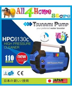 [READY STOCK] TSUNAMI PUMP HPC6130C LIGHT HOME CLEANING HIGH PRESSURE CLEANER 1400W