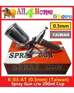 K3 0.5mm Nozzle Air Brush Airbrush Spray Sprayer Gun Painting Tool