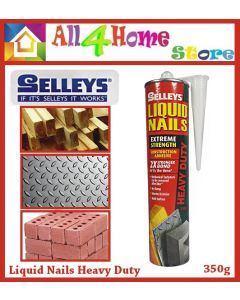 SELLEYS Liquid Nails Heavy Duty 350g Extreme Strength / Pelekat Kuat