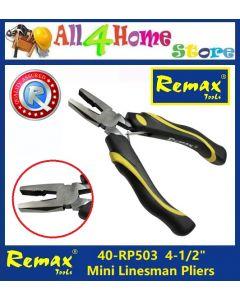 """40-RP503 4-1/2"""" REMAX Mini Linesman Plier"""