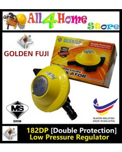 182DP GOLDEN FUJI Low Pressure Gas Regulator (Yellow)