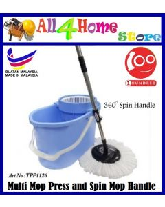 TPP1126 Multi Mop Set (Spin Mop) (Made in MALAYSIA)