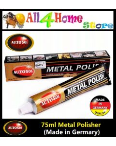75ml Autosol Metal Polish Solvo Rust Remover Chrome Cleaner