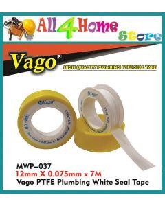 VAGO P.T.F.E Plumbing White Seal Tape