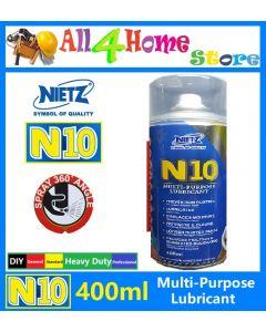400ml NIETZ N10 Multi- Purpose Lubricant