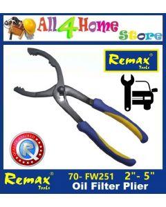 "70-FW251 2""(50mm) - 5""(125mm) REMAX Oil Filter Plier"