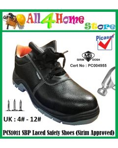 PCS1011 SBP PICASAF Laced Safety Shoes (SIRIM Approved)