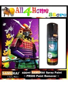 400ml PR500 SAMURAI Paint Remover