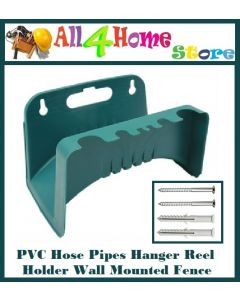 PVC Hose Pipes Hanger Reel Holder Wall Mounted Fence Tap Garden