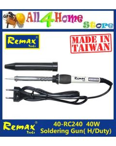 40- RC240 40W REMAX Soldering Iron (Made in Taiwan)