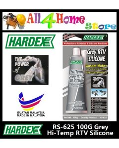 Hardex RS-625 Grey RTV Silicone Gasket Maker High-Temperature