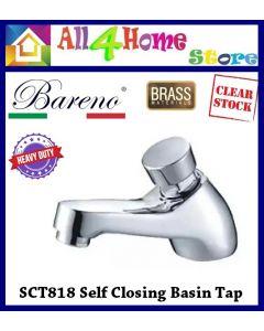 BARENO Heavy Duty Self Closing Basin Tap SCT818
