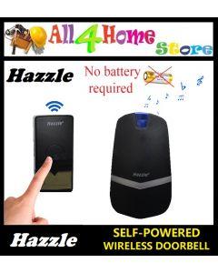 HAZZLE Self-Powered Wireless DoorBell - No Batteries