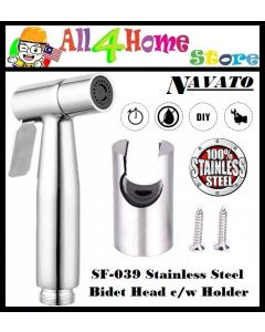 SF-309 NAVATO stainless Steel Bidet Head Only c/w Holder