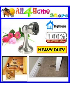 9820SS BIG HOUSE  (H/D) Magnetic Door Stopper - Stainless Steel