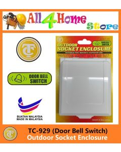 TC929 OUTDOOR SOCKET ENCLOSURE (DOOR BELL SWITCH)