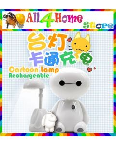 LED Cartoon Character Study Table Desk Lamp (Include Adapter 2 Pin Socket )