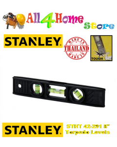 "8"" 200mm STANLEY Magnetic Torpedo Level"